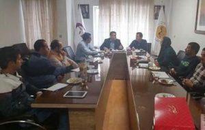 برگزاری جلسه کمیته استقامت